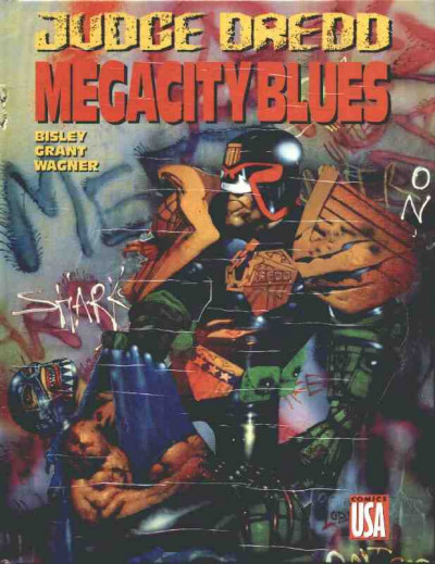 Couverture Judge Dredd - Mega city blues