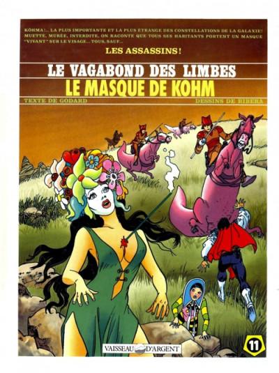 image de Le vagabond des limbes tome 11 - le masque de khom