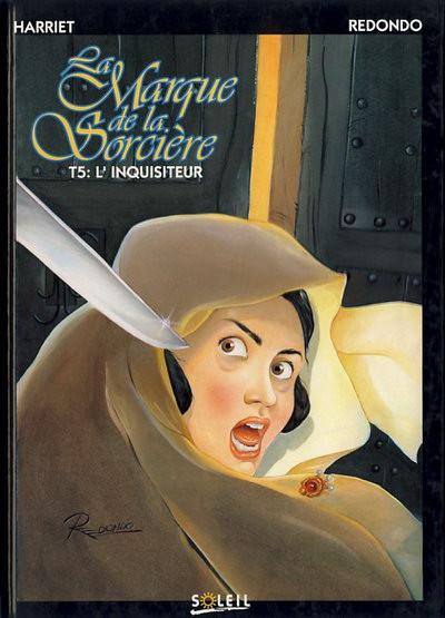 Couverture La marque de la sorcière tome 5 - L'inquisiteur