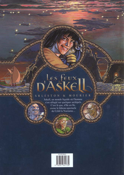Dos les feux d'askell tome 1 - l'onguent admirable