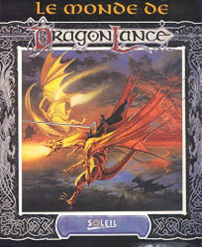 Couverture Monde de donjons et dragons - Le monde de dragonlance