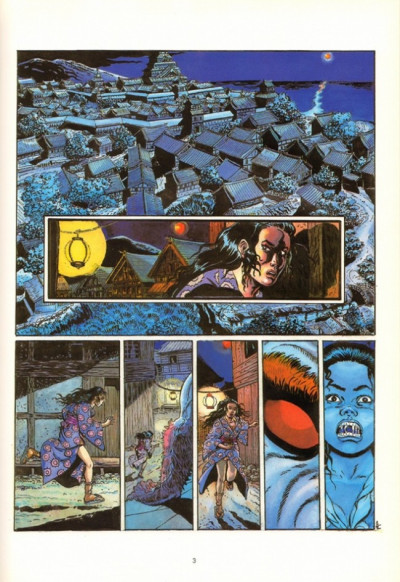 Page 1 Saïto tome 2 - la lune rouge