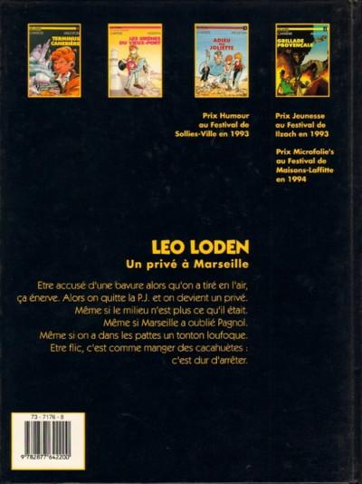 Dos Léo Loden tome 5 - kabbale dans les traboules