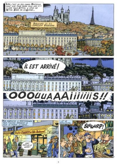 Page 2 Léo Loden tome 5 - kabbale dans les traboules