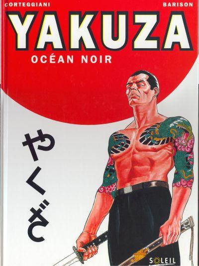 Couverture yakuza tome 1 - océan noir