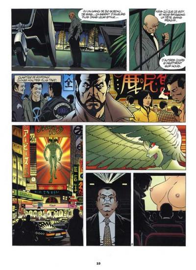 Page 1 yakuza tome 1 - océan noir