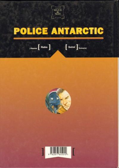 Dos Enfer Blanc tome 3 - police antarctic