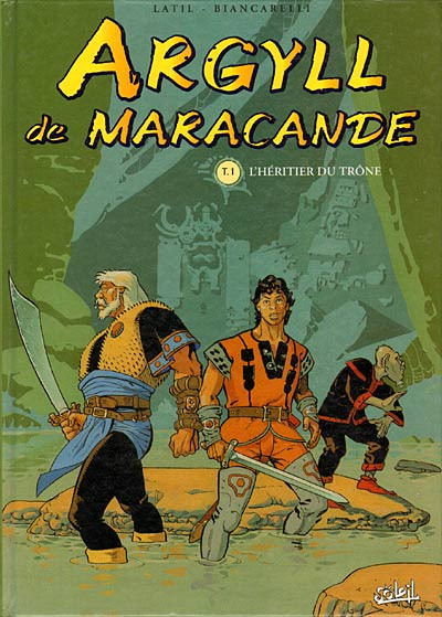 Couverture Argyll de Maracande tome 1 - l'héritier du trône