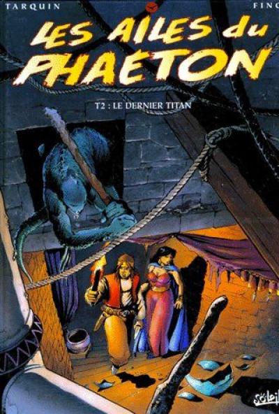 Couverture les ailes du phaéton tome  2 - le dernier titan