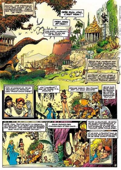 Page 5 lanfeust de troy tome 5 - le frisson de l'haruspice