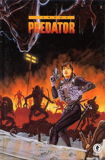 Couverture Alien versus predator tome 2