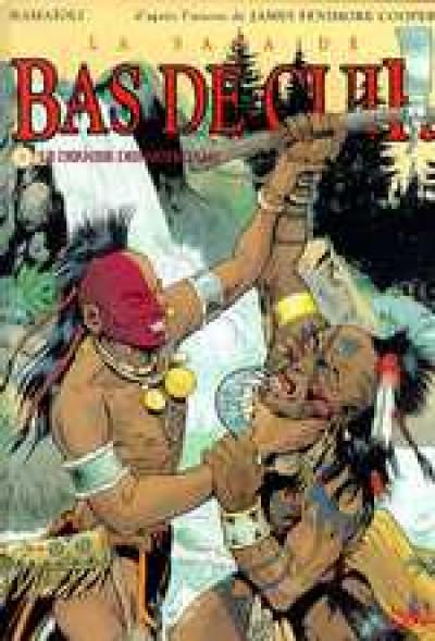Couverture La saga de bas de cuir tome 3 - le dernier des mohicans partie 2
