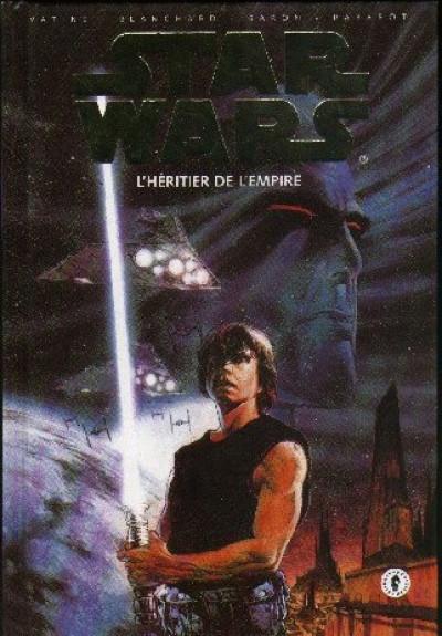 Couverture Star wars l'héritier de l'empire (dark horse) - intégrale