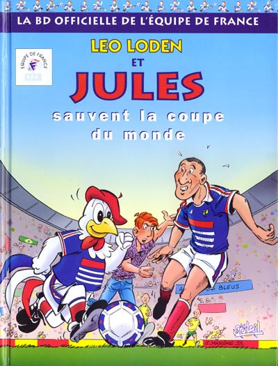 image de Léo Loden et Jules - La BD officielle de l'équipe de France