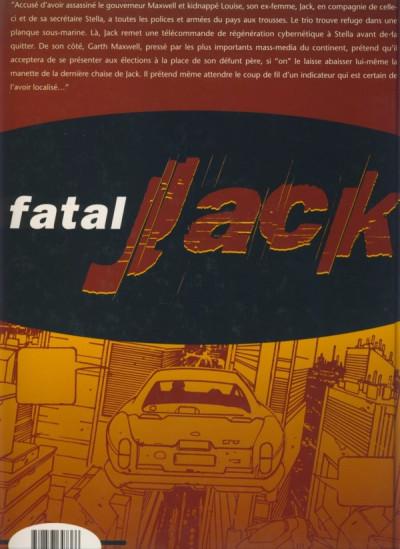 Dos Fatal Jack tome 2 - dirty fatal Jack