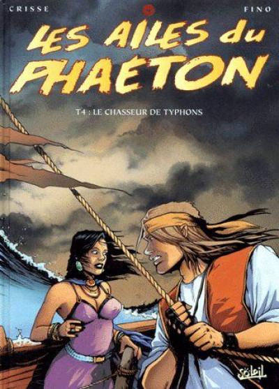 Couverture les ailes du phaéton tome 4 - le chasseur de typhons