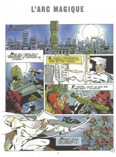 Page 1 L'archer blanc tome 2 - l'arc magique