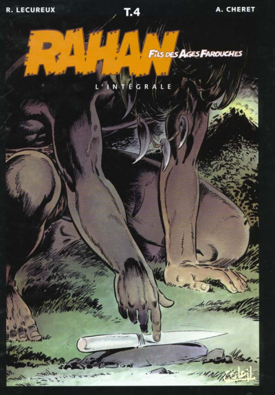 Couverture rahan - intégrale tome 4