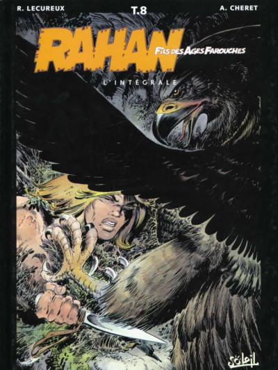 Couverture rahan - intégrale tome 8