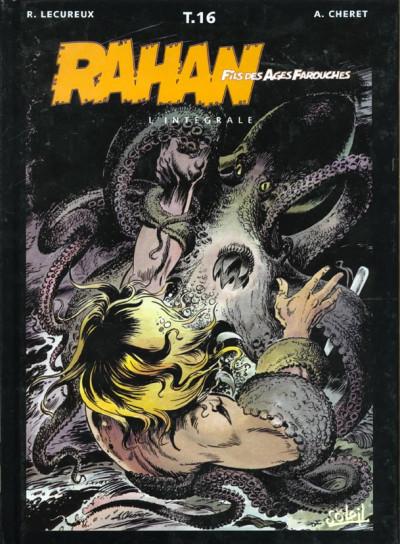 Couverture rahan - intégrale tome 16