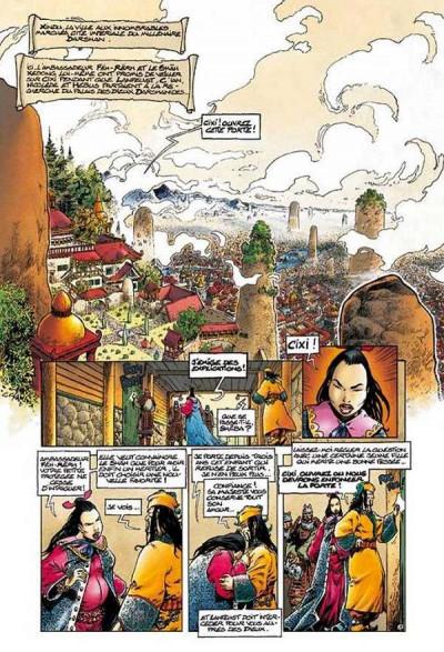 Page 4 lanfeust de troy tome 6 - cixi imperatrice