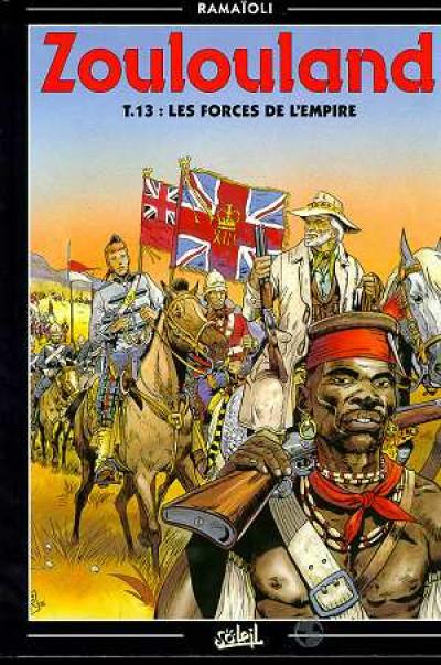 image de zoulouland tome 13 - les forces de l'empire