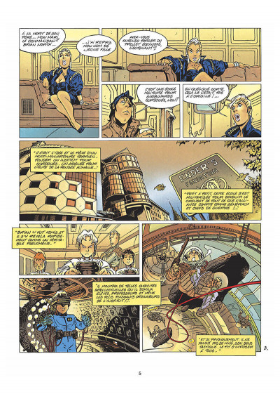 Page 6 kookaburra tome 3 - projet equinoxe