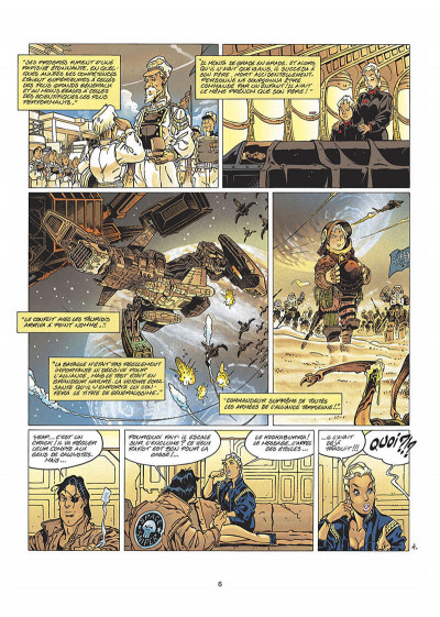 Page 7 kookaburra tome 3 - projet equinoxe