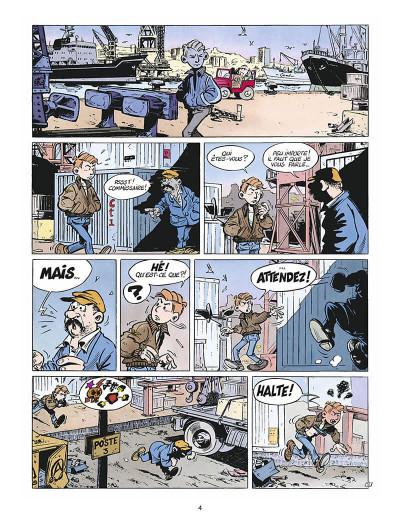 Page 5 léo loden tome 1 - terminus canebière