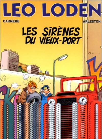 Couverture léo loden tome 2 - les sirènes du vieux port