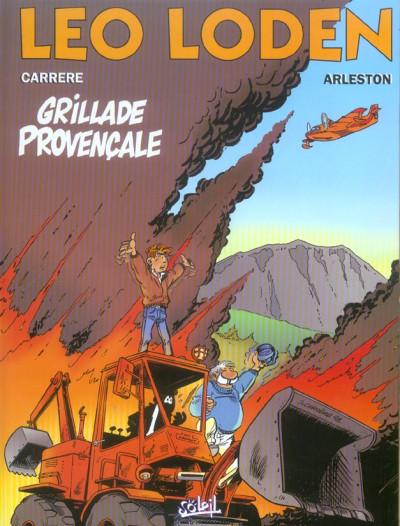 Couverture léo loden tome 4 - grillade provençale