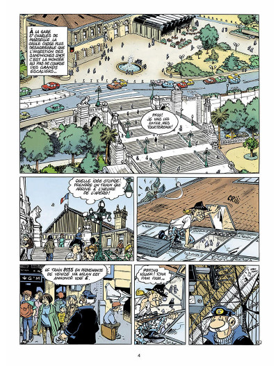 Page 3 léo loden tome 6 - pizza aux pruneaux