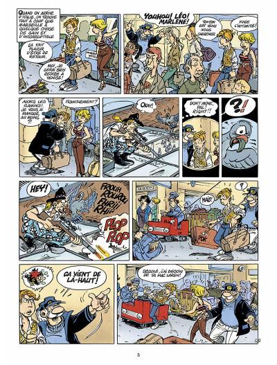 Page 4 léo loden tome 6 - pizza aux pruneaux