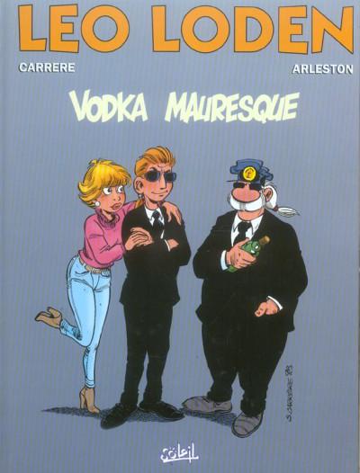 Couverture léo loden tome 8 - vodka mauresque