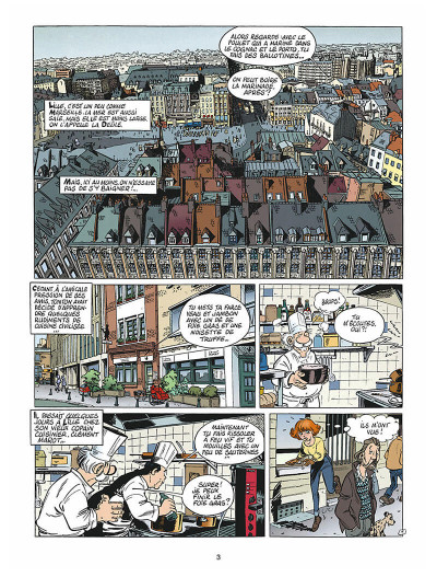 Page 2 léo loden tome 9 - chaud beffroi
