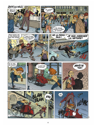 Page 3 léo loden tome 9 - chaud beffroi