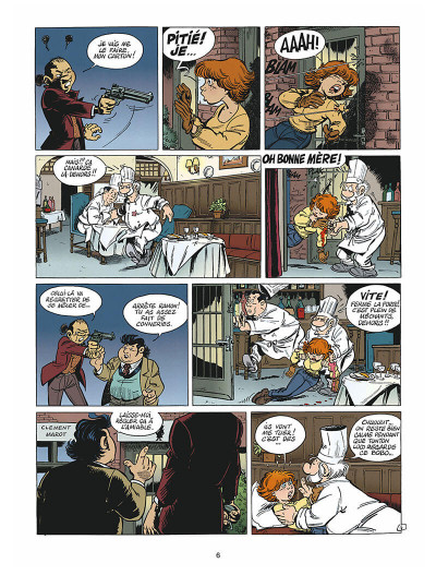 Page 5 léo loden tome 9 - chaud beffroi