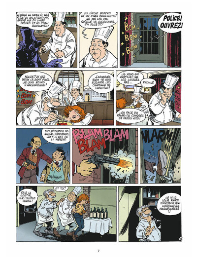 Page 6 léo loden tome 9 - chaud beffroi