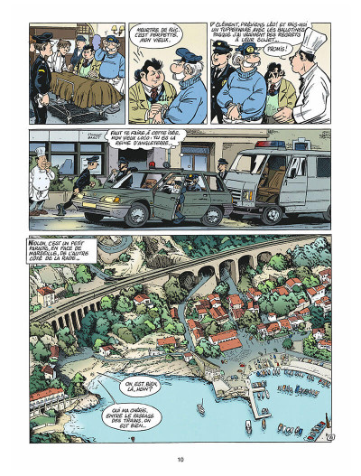 Page 9 léo loden tome 9 - chaud beffroi