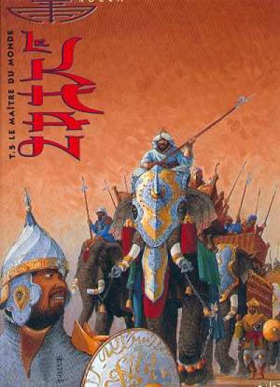 Couverture le khan tome 5 - le maitre du monde