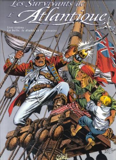 Couverture les survivants de l'atlantique tome 6 - belle bête corsaire