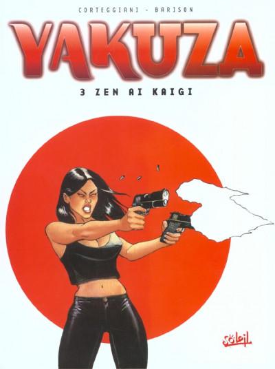 Couverture yakuza tome 3 - zen al kaigi