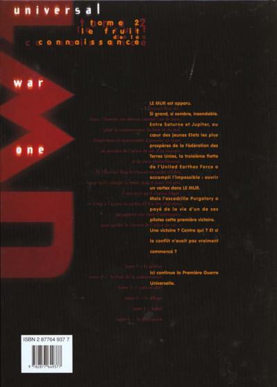 Dos Universal war one tome 2 - le fruit de la connaissance