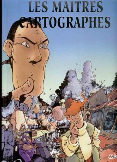 Couverture Les maîtres cartographes tomes 3 à 5