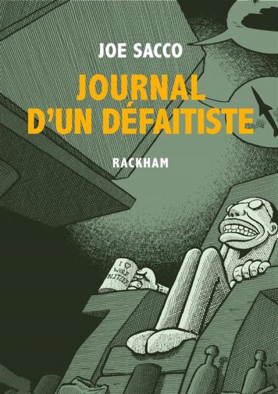 Couverture Journal d'un défaitiste
