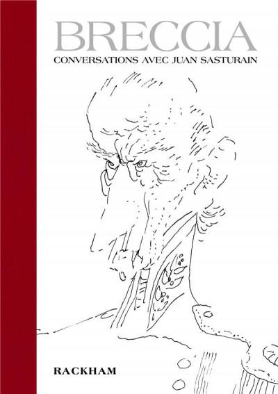 Couverture Breccia - Conversations avec Juan Sasturain