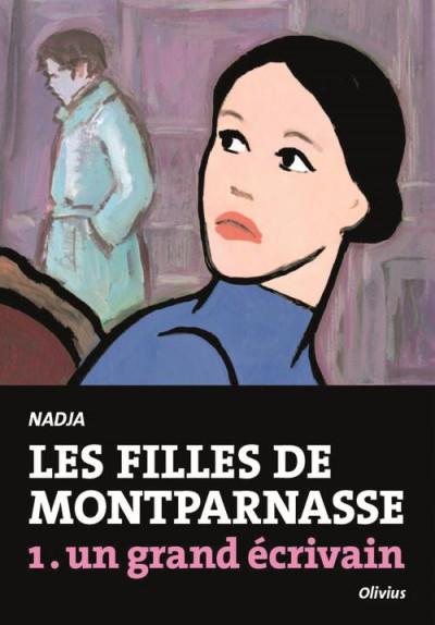 Couverture les filles de Montparnasse tome 1 - un grand écrivain