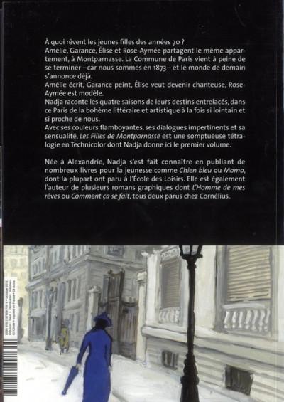 Dos les filles de Montparnasse tome 1 - un grand écrivain