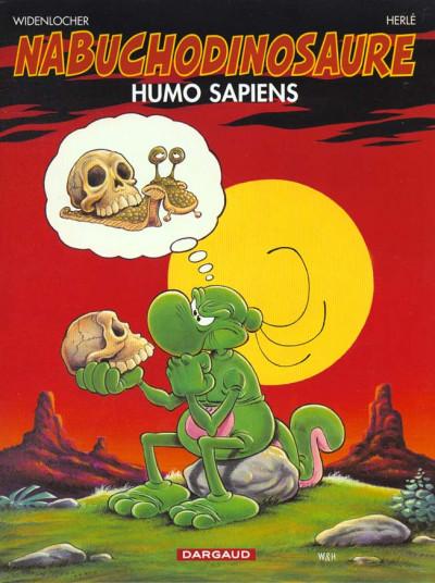 Couverture Nab tome 4 - humo sapiens
