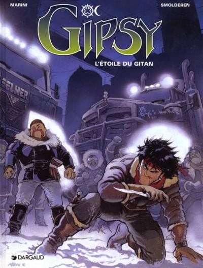 Couverture Gipsy tome 1 - l'étoile du gitan
